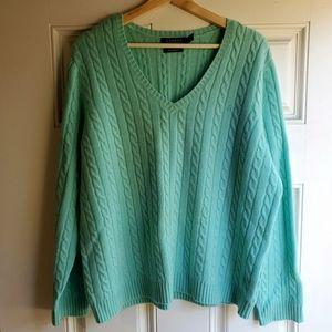 100% Cashmere Lauren by Ralph Lauren Sweater
